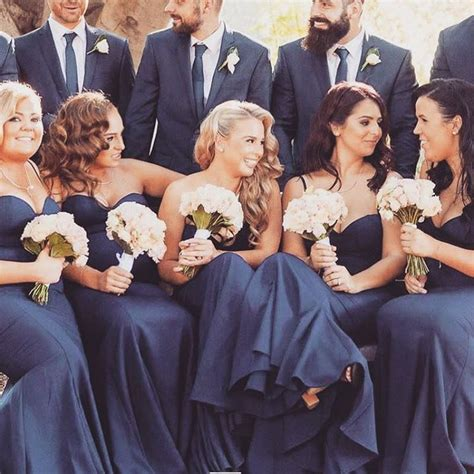 Arianna By Lil Gorgeous Navy a gorgeous bridal in our arianna navy gown