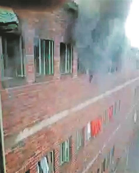 Property24 video inmates burn cells daily sun