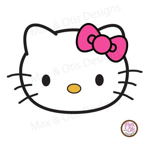 printable banner hello kitty hello kitty face printable sign banner max otis designs