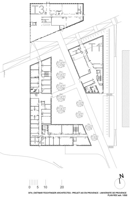 architectural design floor plans gallery of universit 233 de provence in aix en provence entension dietmar feichtinger architects 35