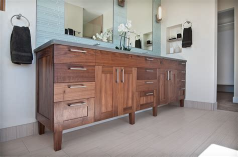 Bedroom Vanity Sale Walnut Vanity Transitional Bathroom Denver By Marc