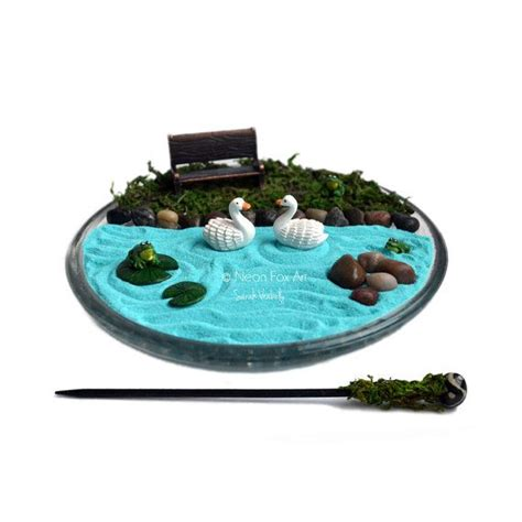 mini zen rock garden mini zen garden miniature pond garden cubicle