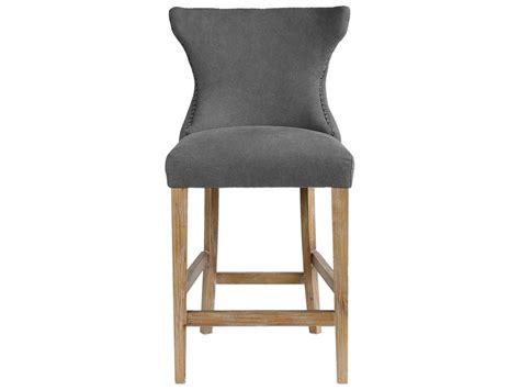 gray linen counter stool uttermost gamlin gray linen counter stool ut23244