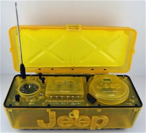 Jeep Portable Radio Jeep Portable Boombox Stereo Am Fm Radio Cd Cassette