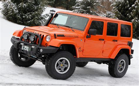 orange jeep rubicon jeep wrangler rubicon technical details history photos