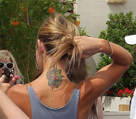 audrina patridge tattoo former quot quot audrina patridge has a colorful neck