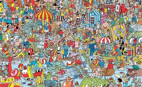 Who Where Search Where Is Waldo This Is How You Find Him