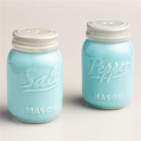 shaker shaking mason jar salt and pepper shakers