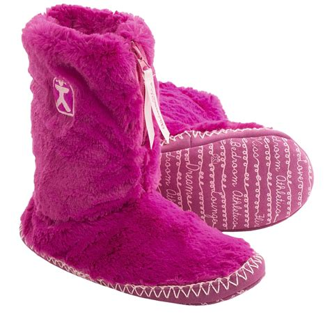 sexy bedroom slippers bedroom athletics marilyn boot slippers for women save 63