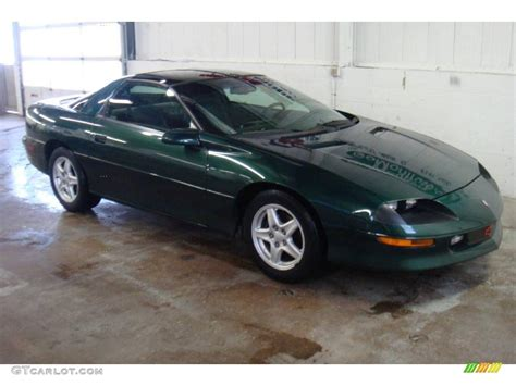 camaro rs 1997 1997 polo green metallic chevrolet camaro rs coupe