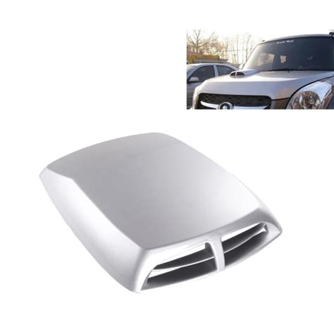 Random Scoop by Car Turbo Style Air Intake Bonnet Scoop For Car Decoration