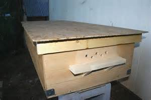 Tanzanian Top Bar Hive by Skunky Acre Farms Bee Hives
