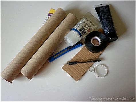 How To Make Paper Telescope - building a telescope