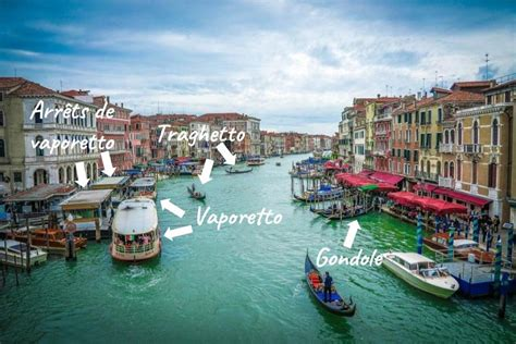different types of boats in venice transport in venice how to get around in venice