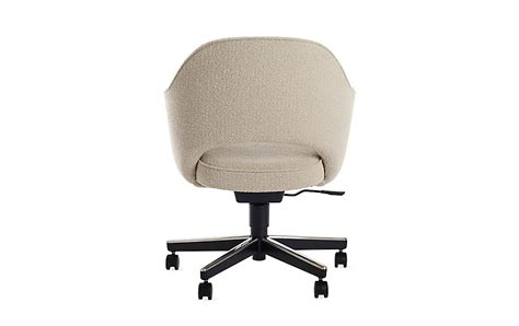 armchair with casters saarinen executive armchair with casters resources com beta