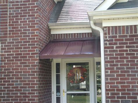 copper awnings metal awnings overhead deck canopies and standing seam