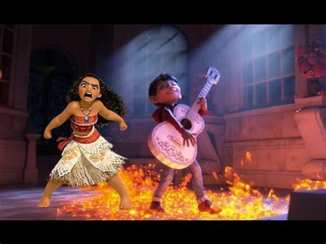 Coco Vs Moana   coco and moana lost in mars legendary trailer youtube