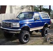 The 1996 Ford Bronco Was Last Of Its Line Produced With