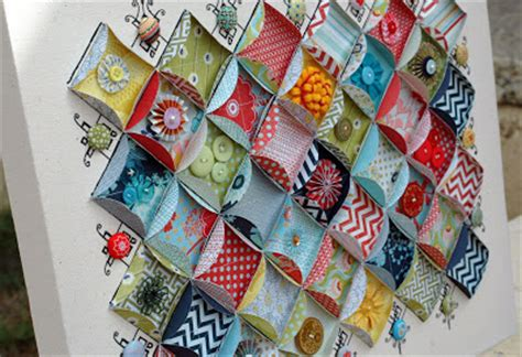 How To Make A Paper Quilt - 20 uses for paper scraps the paper