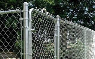 guide to installing a chain link fence at the home depot