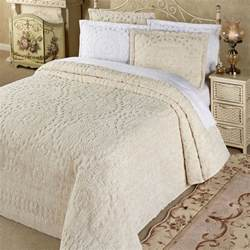 Cotton Quilts And Bedspreads Lightweight Cotton Chenille Bedspread Bedding