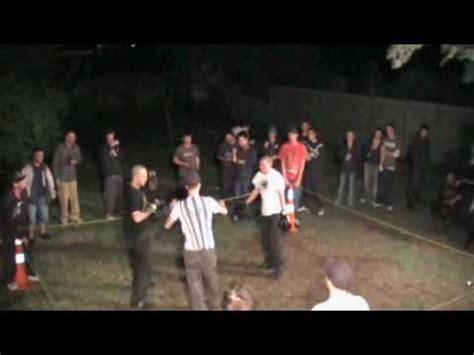 backyard brawlers backyard brawlers ep3 rick d vs powder new brighton youtube