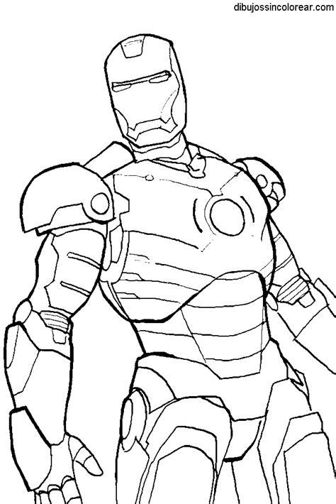 Imagenes Para Dibujar Iron Man | dibujos de ironman para colorear