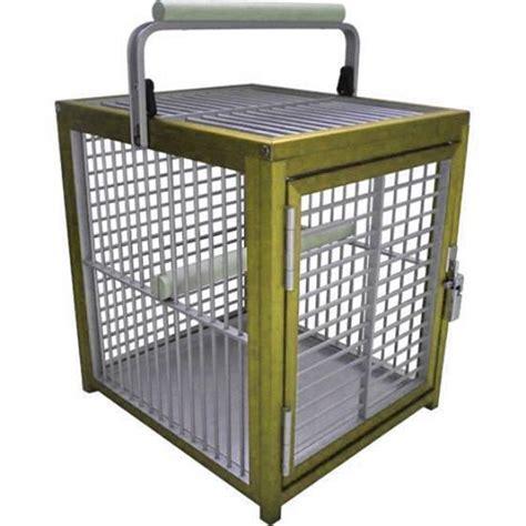 kings cages att1214 aluminum parrot bird cage pet travel