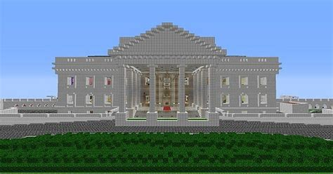 minecraft white house white house grounds 1 000 000 blocks minecraft project