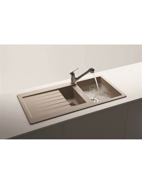 schock kitchen sinks schock lithos d 150 granite kitchen sinks 1 5 bowl 5 colours
