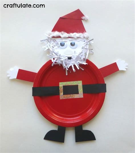 Paper Plate Santa Craft - 8349 best language arts ideas images on