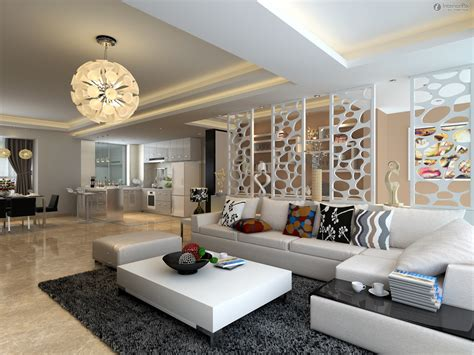 living room luxury large space modern living room design