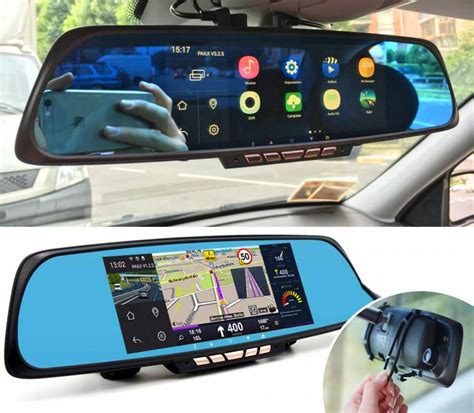 Cool Kitchen Stuff smart rear view mirror with integrated dash cam