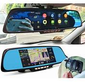 Smart Rear View Mirror With Integrated Dash Cam