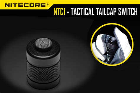 Senter Nitecore Mh12 nitecore ntc1 tactical tailcap switch 25 4mm for mh25 mh2c mh40 mh12 ebay