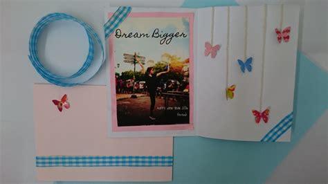 membuat kartu ucapan yang bagus cara membuat kartu ucapan ulang tahun dengan mudah satu jam