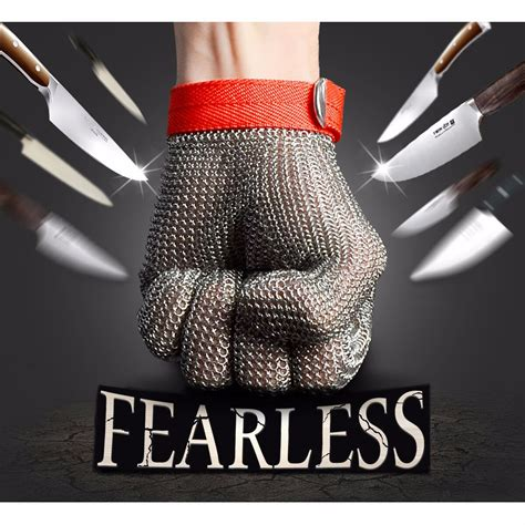 Safety Cut Proof Stab Resistant Stainless Metal Mesh Butche safety cut proof stab resistant stainless steel metal mesh butcher gloves alex nld