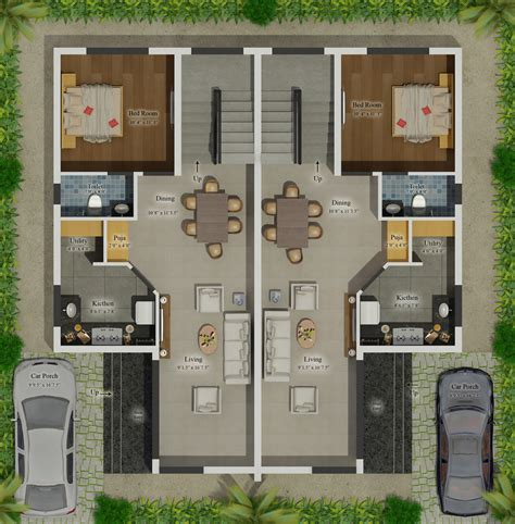 house blue prints house floor plans in india