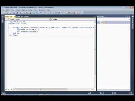 visual basic tutorial by microsoft microsoft visual basic tutorial simple website blocker