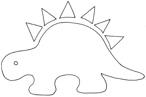 dinosaur templates to print printable dinosaur cut outs printable