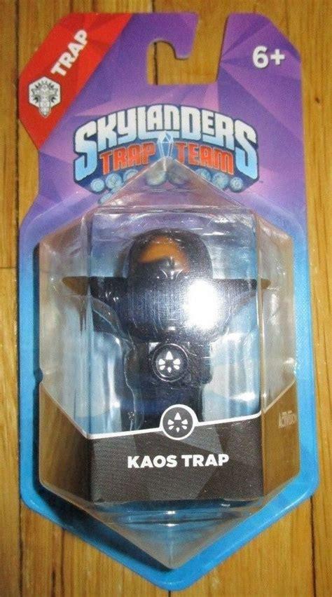 skylanders kaos trap factory error trap team ebay
