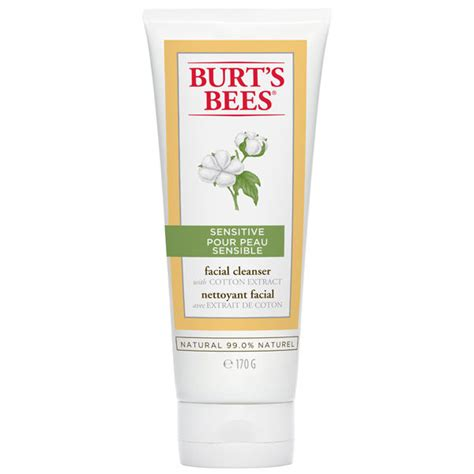 burt s burt s bees sensitive facial cleanser 170g free shipping