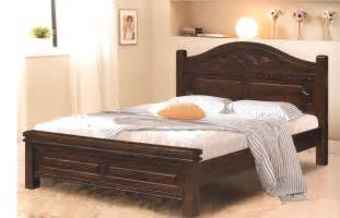 Grey Stained Wood Bed Frame Bedroom Ideas Reclaimed Wood Kingsieze Bed With Headboard