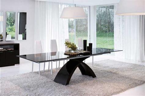 esstisch glas design design esstisch schwarz glas rheumri