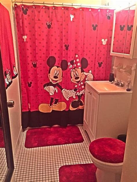 Minnie Mouse Bathroom Mickey And Minnie Mouse Bathroom Set 28 Images Disney Mickey Minnie Mouse Fabric Shower