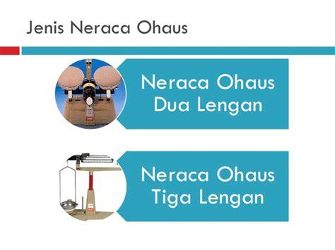 Timbangan Neraca Ohaus alat ukur massa waktu