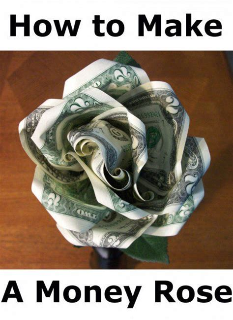 How To Make Origami Out Of A Dollar Bill - 25 best ideas about money flowers on money