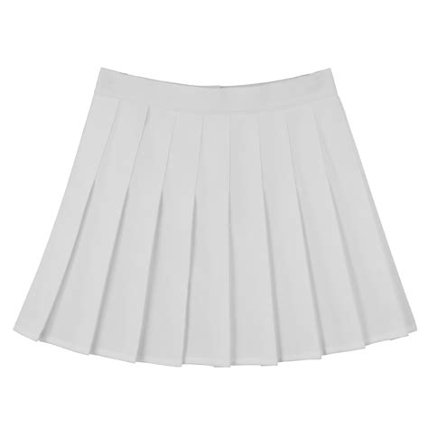 t i r a m i z white pleated tennis skirt