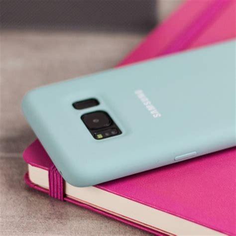 Official Samsung Silicone Cover Blue Galaxy S8 Plus official samsung galaxy s8 plus silicone cover blue
