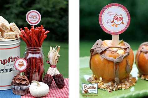 fall themed decorations ideas for with fall birthdays